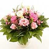 Blumenversand im Frühling - Blumenstrauß Pink Valentin - mit Gratis Grußkarte Deutschlandweit versenden
