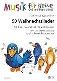 50Canzoni Natalizie. Musica per 2flauti/50Christmas Songs for 2Recorders (gioco Partitur) (musica per le piccole e uccelli più grandi)