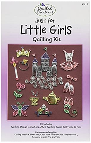 Quilled Creations Paper Quilling Kit Just for Little Girls