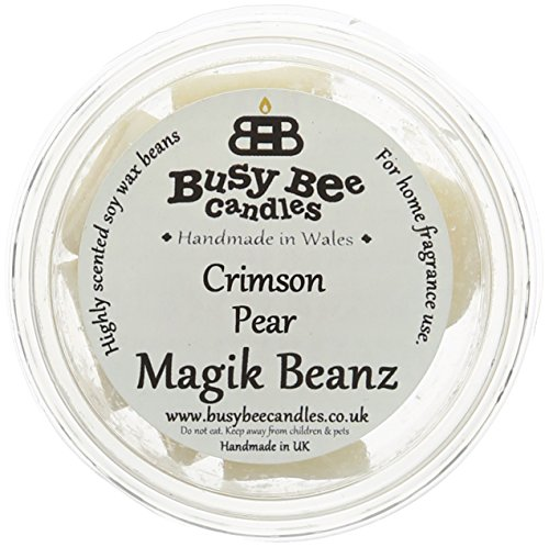 busy bee candles crimson