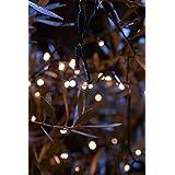 Auraglow solarbetriebene LED Lichterkette mit 100 Set dekorativen Garten Fee licht