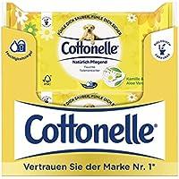 Cottonelle Feuchtes Toilettentücher Natürlich Pflegend Nachfüllpack,12er Pack (12x 42 Tücher)