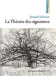 La théorie des signatures par Joseph Soletier