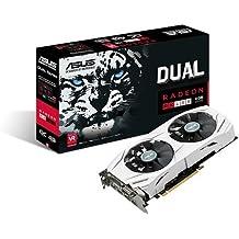 Asus Dual-RX480-O4G Gaming AMD Radeon Grafikkarte (4GB DDR5 Speicher, PCIe 3.0, HDMI, DVI, DisplayPort)