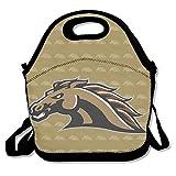 Western Michigan Broncos 1Logo almuerzo Tote Bag