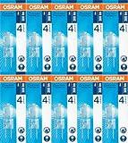 10x Osram HALOSTAR STARLITE 20W 12V 2.800 K 300 lm Halogen-NV-Lampe G4 dimmbar klar