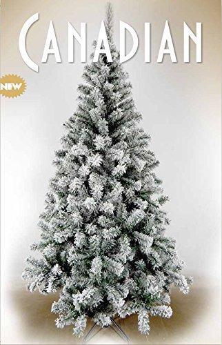 Giocoplast  28415162, Albero Di Natale Canadian Innevato, 120 cm