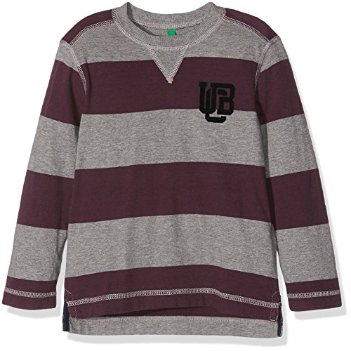 united-colors-of-benetton-3bczc-t-shirt-garon-multicolore-grey-maroon-tripe-2-ans-taille-fabricant-2