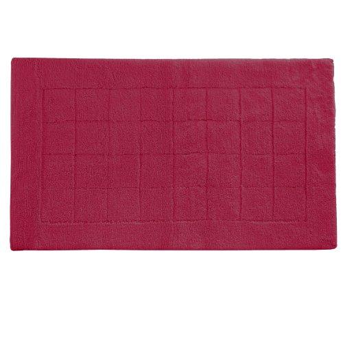 Vossen 1147440390 Exclusive - Badeteppich, 67 x 120 cm, rubin