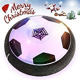 Hover Ball | Air Power Fußball | YIDERN LED Licht Fußball mit Schaum Stoßfänger für Indoor Innenräumen, Guter Geschenk für kinder