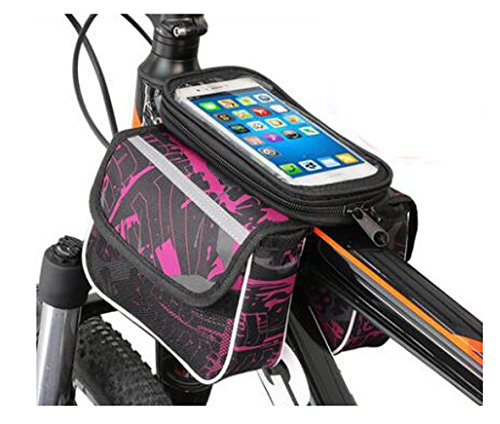 Bike Bag Bunte Fahrrad Lenker Pakete für 6 Zoll Telefon Multi-Funktions-Fahrrad-Zubehör#4
