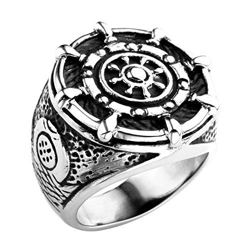 piercingj-bijoux-bague-anneaux-gouvernail-ancre-anchor-nautique-motard-biker-acier-inoxydable-punk-r