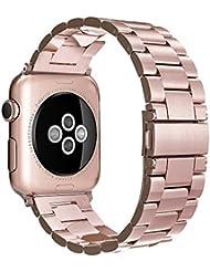 Apple Watch Armband 42mm Edelstahl ,Simpeak Premium Band Straps für Apple Watch 42mm Series 1/2/3