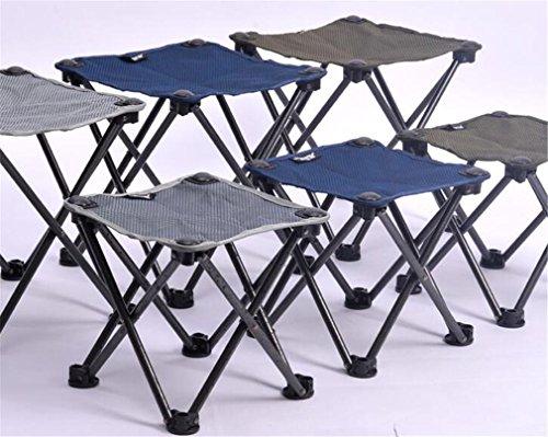 TTYY Chaise de lune Chaise pliante Pêche en plein air Cour arrière Camping Chaise de repos L , Gray