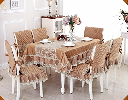 Haut de gamme tissu de table, linge de table, linge de table, revšºtements d'ameublement costume Continental table š€ manger,110*160CM