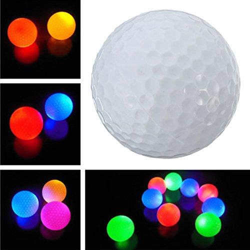 leuchten blinkt LED Golf Ball Nachtlicht Lampe für Sport Geschenk ()