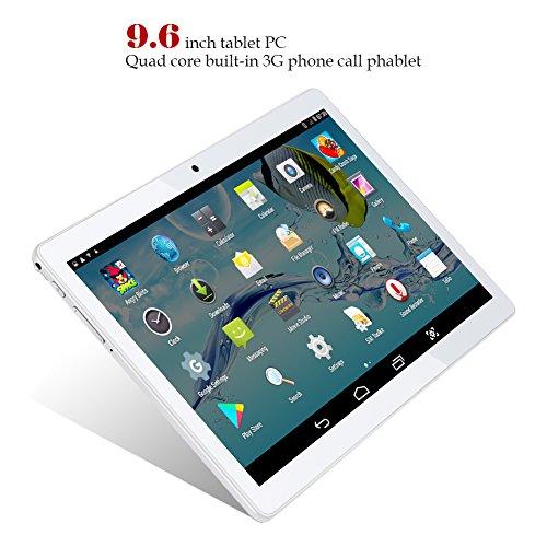 Padgene Android Tablet 9.6 Pulgadas Phablet WiFi Bluetooth4.0