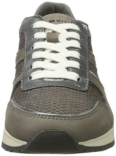 Tommy Hilfiger Damen I1285zzy 1n1 Sneaker Grau (Light Grey)