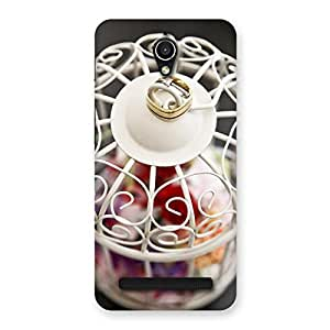 Neo World White Amazing Cage Back Case Cover for Zenfone Go