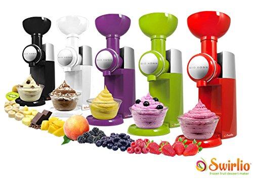 Gelatiera yogurtiera naturale frutta gelati swirlo senza conservanti mousse life