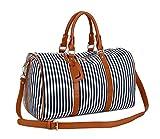 BAOSHA HB-24 Frauen Damen Segeltuch Weekender Tasche Reisetasche Handgepäck Canvas
