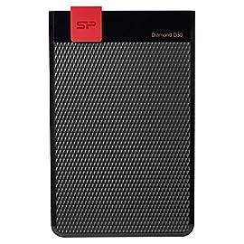 Silicon Power Diamond D30 2000GB Nero - Hard disk esterno - Dischi rigidi esterni (2000 GB, 3.0 (3.1 Gen 1…