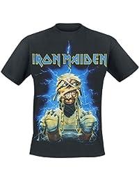 Iron Maiden Powerslave Mummy T-Shirt Black