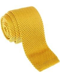 "Retreez Vintage Smart Casual Men's 2"" Skinny Knit Tie Necktie - Various Colors"