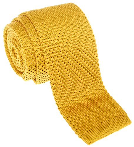 Retreez - Cravate - Solid - Homme Or - Doré