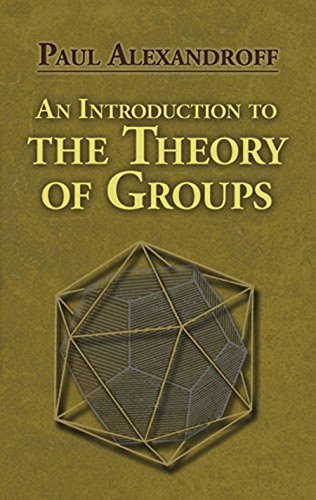An Introduction to the Theory of Groups (Dover Books on Mathematics) (English Edition)
