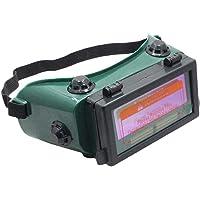 Masque de Soudure Automatique 9 à 13 DIN Lunettes Solaires Automatiques, Convient à Lous Les Types de Soudage et Modes de Coupe, sauf Le Soudage au Laser