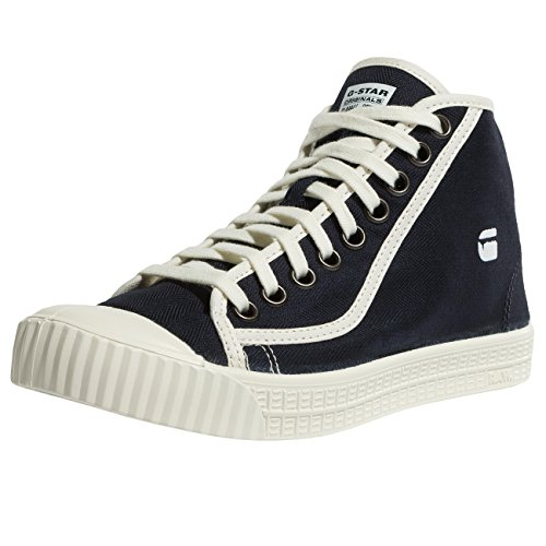 G-STAR RAW Rovulc HB Mid Wmn, Sneakers Basses Femme Bleu (Dk Navy 881)