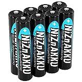 ANSMANN Micro NiZn Akku AAA 1,6V 900mWh - Ni-Zn Accu AAA wiederaufladbar - Kein Memory Effekt Akkus - wiederaufladbare Batterien AAA ideal für Fernbedienung Taschenlampe Spielzeug - 8 Akku Batterien