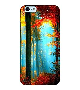 ColourCraft Lovely scenery Design Back Case Cover for APPLE IPHONE 6