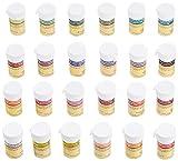 Pati-Versand Lebensmittelfarbe Paste 24er Set, 1er Pack (1 x 600 g)
