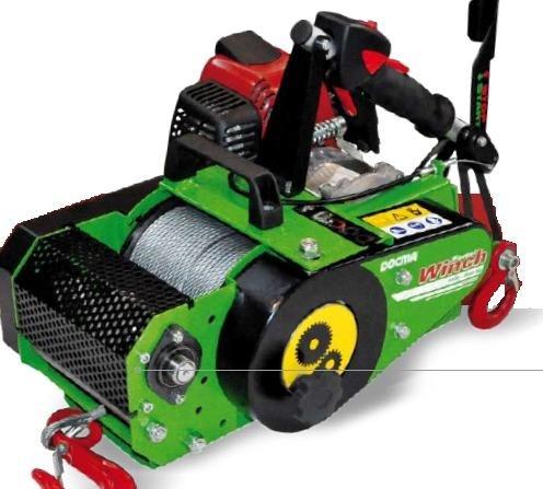 Forstseilwinde VF 150 Automatik tragbar mit Seilwickelautomat (Spillwinde)