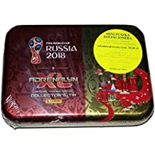World Cup Russia 2018 Adrenalyn Cards Mini Tin Box Limited Cards Panini