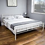 Vida Designs Dorset UK King-Size Bett, ca. 150 x 200 cm, Weiß