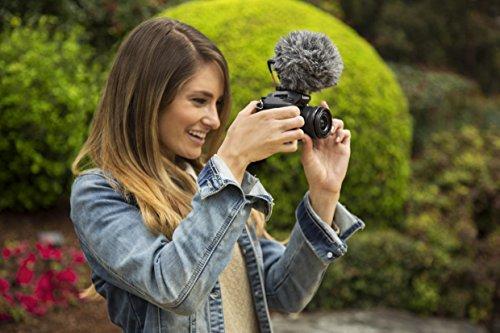 Rode-VideoMicro-Microfono-Direzionale-Compatto-per-fotocamere-DSLR-Videocamere-e-registratori-audio-portatili-Nero