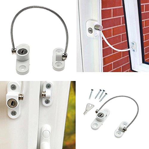 Fenstersicherheits-Kettenschloss-Türrestriktor-Kindersicherheits-rostfreie Diebstahlsicherungen für Hauptschiebetür-Möbel-Hardware