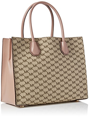Michael Kors 30F6AM9T3V_NAT/FAWN Womens Mercer Large Tote Multicolour (Natural / Fawn)