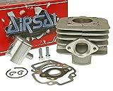 AIRSAL 50ccm T6 M-Racing Zylinder Kit für Piaggio Sfera RST 50, Storm 50, TPH 50