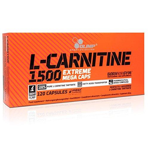 Olimp sport nutrition l-carnitine 1500 extreme mega caps/mega capsules 120 caps