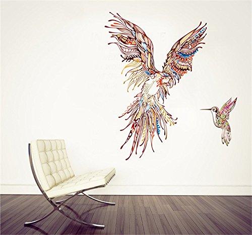 yanqiao-335472-colorful-eaglebrid-wall-sticker-for-livingroom-kidsroom-removable-vinyl-home-diy-deco