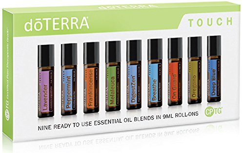 doTERRA Touch - Nine Ready to use Essential Oil Blends in 9 ml Roll-Ons by doTERRA