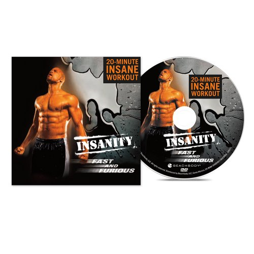 Price comparison product image Insanity Fast & Furious 20-Minute Workout DVD