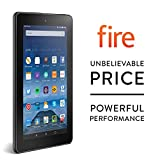 Fire Tablet, 7 Display, Wi-Fi, 8 GB (Black)