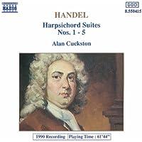 Handel: Harpsichord Suites Nos. 1- 5
