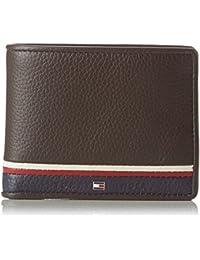 Tommy Hilfiger - Corporate Mini Cc Wallet, Monederos Hombre, Braun (Coffee Bean), 2x9x11 cm (W x H D)