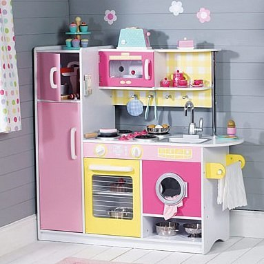 Preisvergleich Produktbild Kidkraft Sonnenschein Kinderküche 53338 aus Holz Sunshine - Spielküche Küche